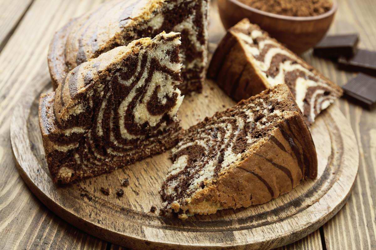 як спекти пиріг зебра в духовці