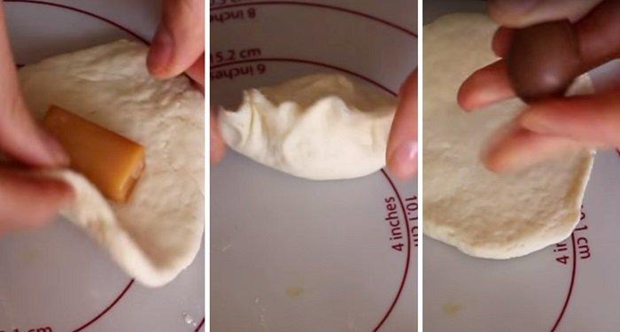 пирожки с начинкой из варенья