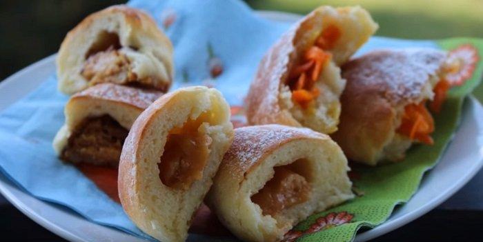 пирожки со сладкой начинкой