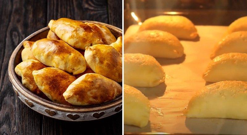 пирожки из свежих яблок