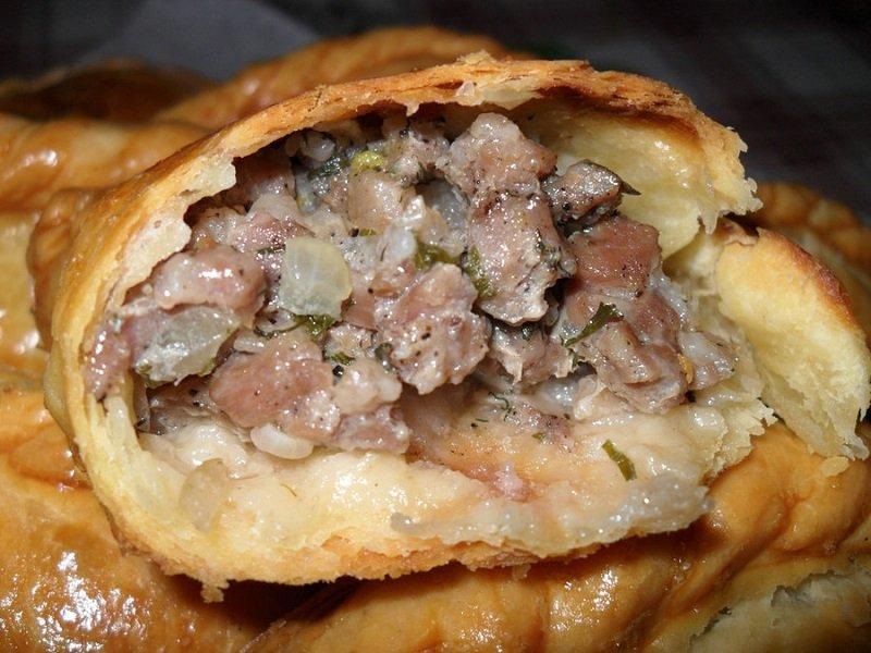 пирожки с мясом фото