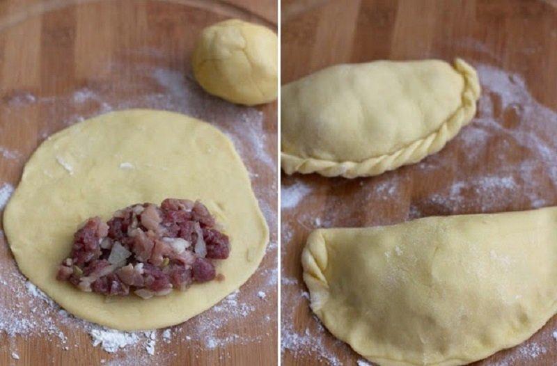 Рецепт пирожков с курицей в духовке рецепт 70