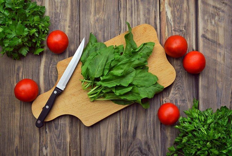 зелень салат
