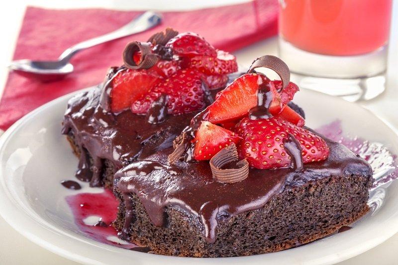 шоколад клубника и ваниль