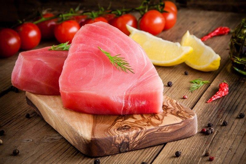 тунец или лосось