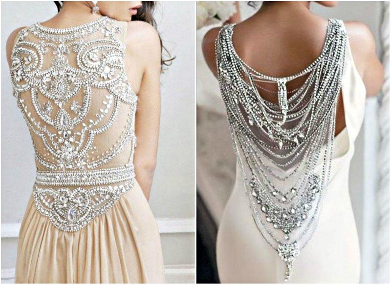 Как украсить платье бисером своими руками фото 91