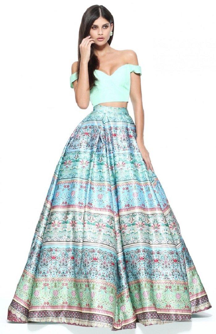 длинные платья для полных