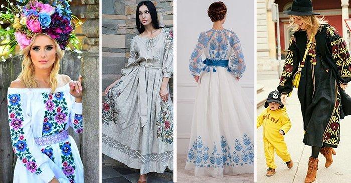 Платья с вышивкой - Так Просто! 7