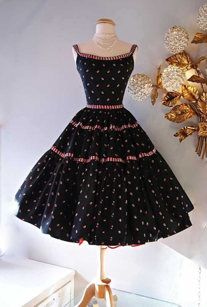 платья в стиле ретро винтаж