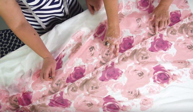 модные практики платье без выкройки