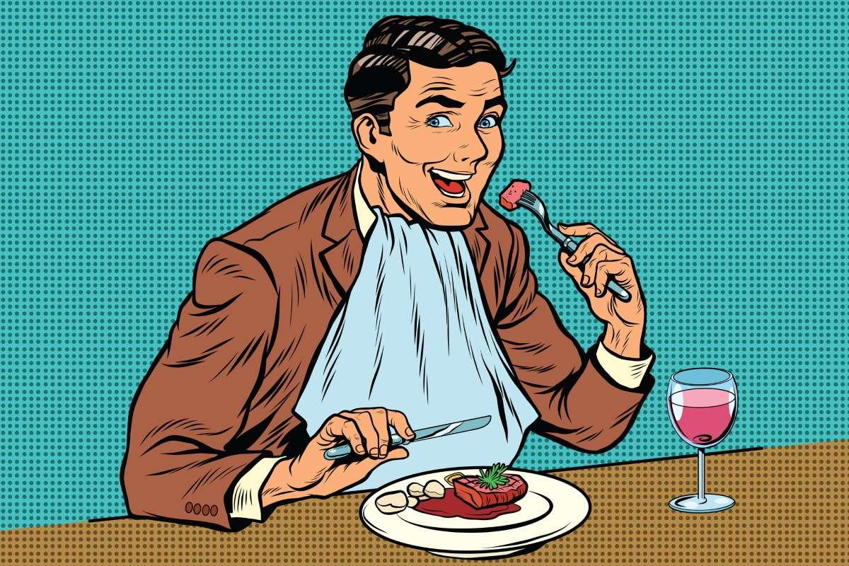 Почему просить добавки за столом хорошо воспитанный человек не станет, даже если голоден