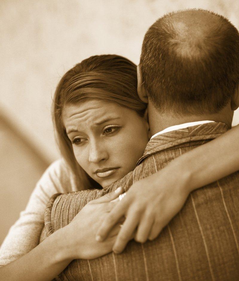 плохой отец и дочь