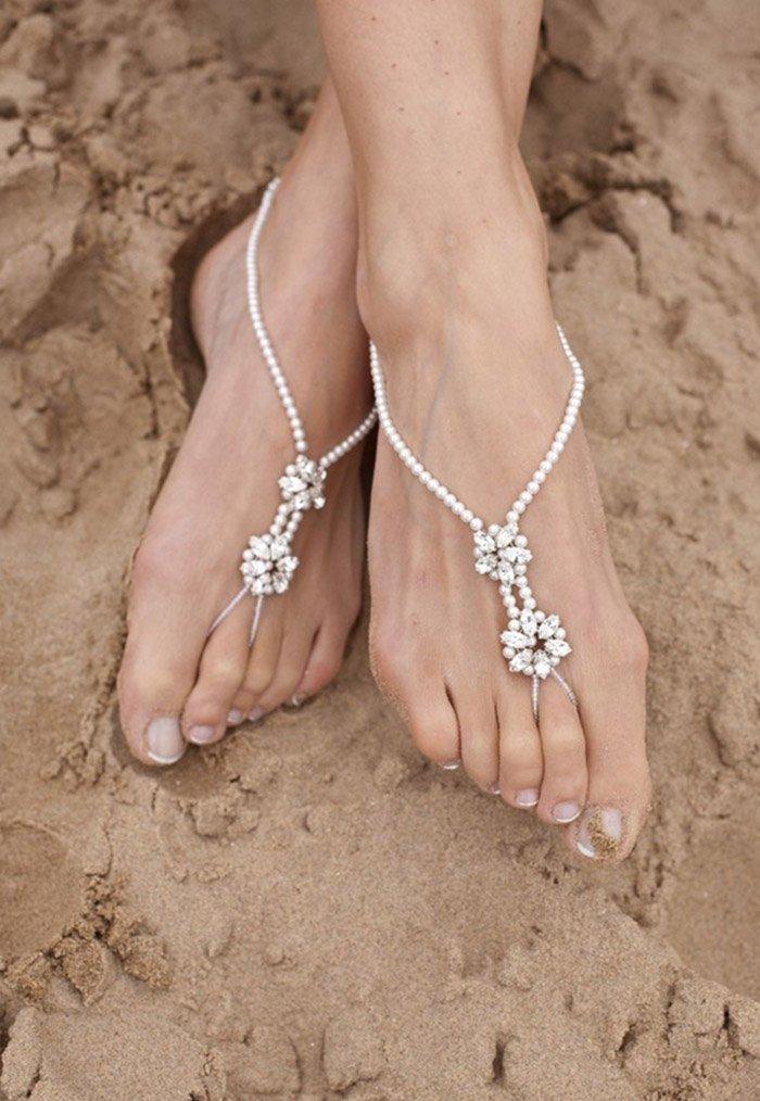 пляжные сандалии крючком