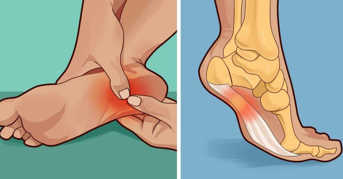 Почему по утрам болят ступни ног