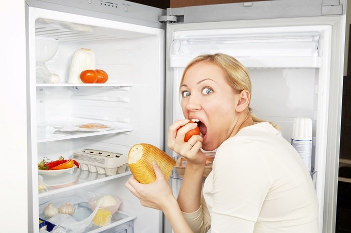 стресс и еда