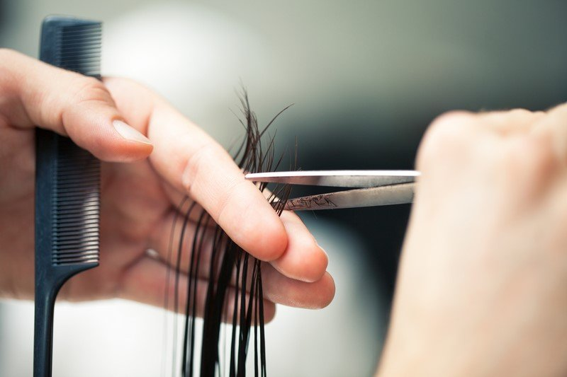 как правильно стричь волосы