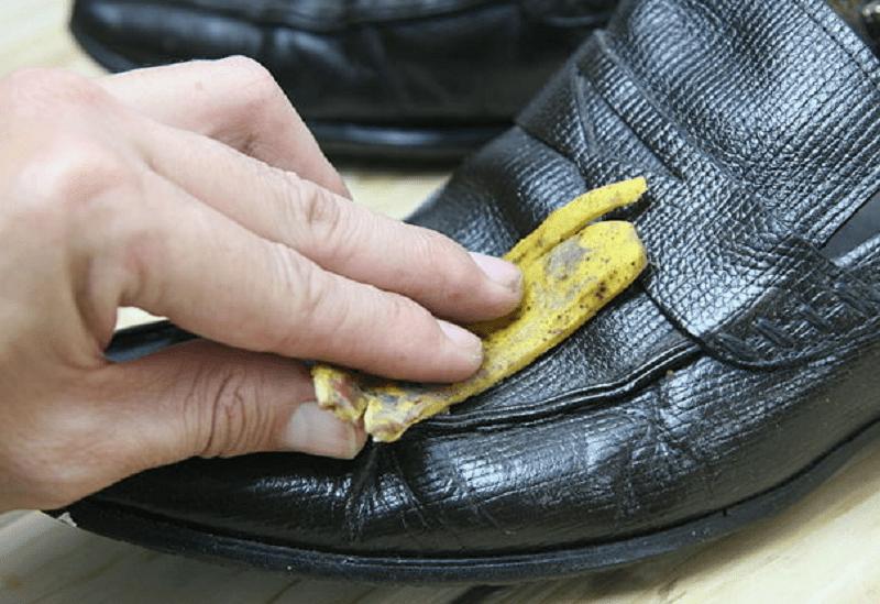 банан чистка обуви