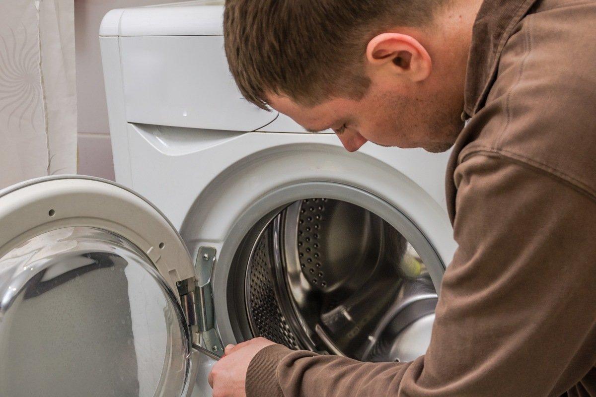 почистить стиральную машину в домашних условиях
