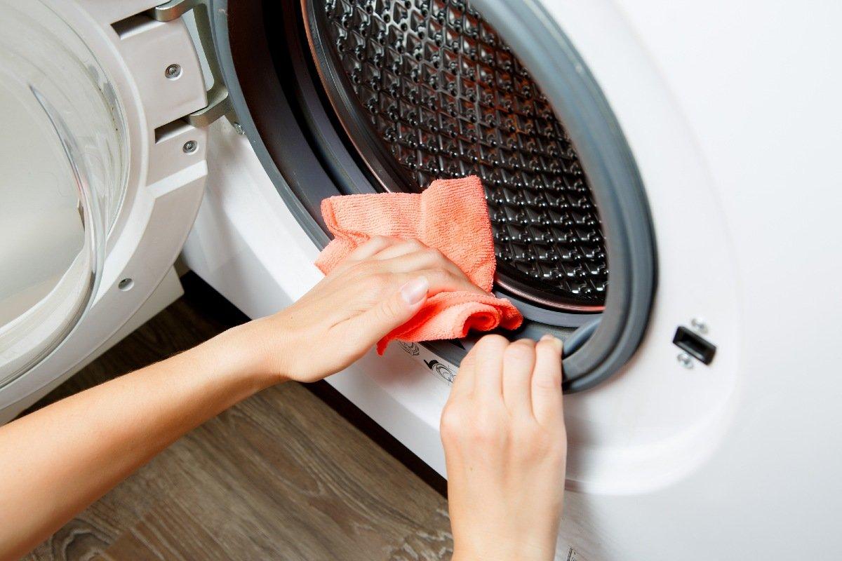 как почистить стиральную машину автомат в домашних условиях
