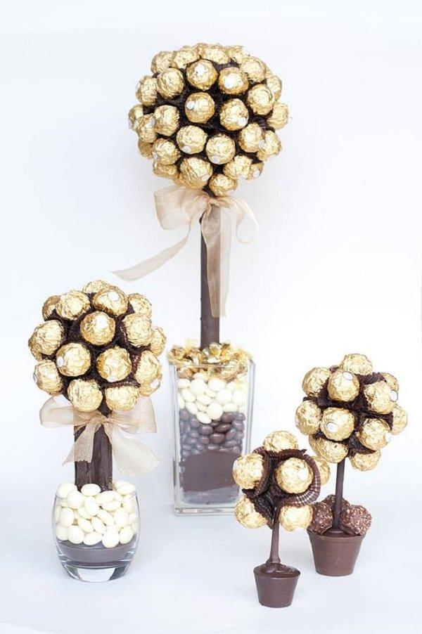 подарки из конфет для мальчика