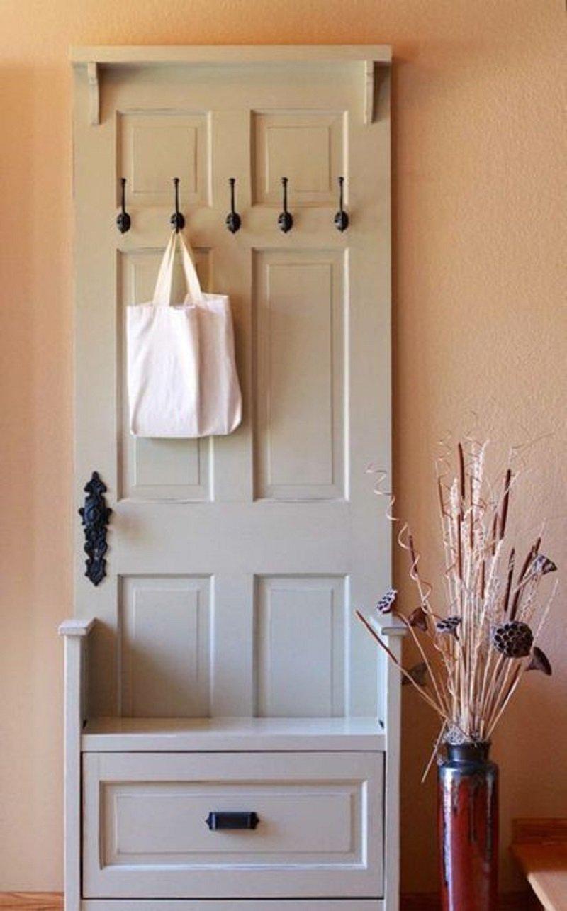 Вешалка на дверь своими руками 36