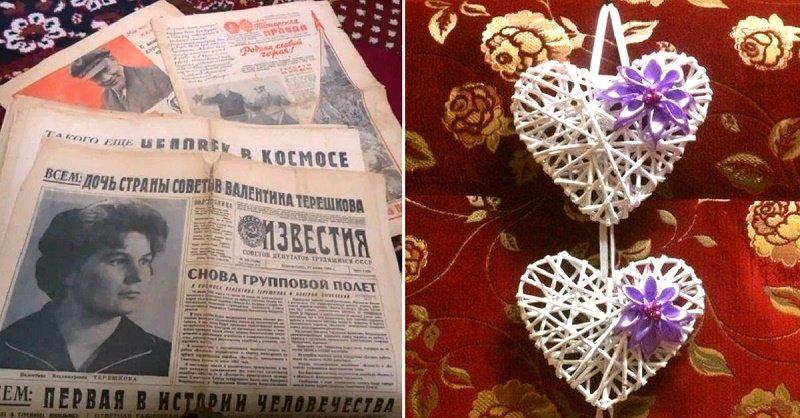 поделки из газетных трубочек для детей