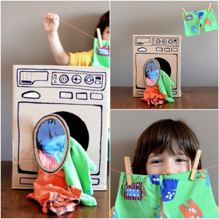 игрушки из картона своими руками