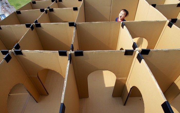 игрушки из картонных коробок