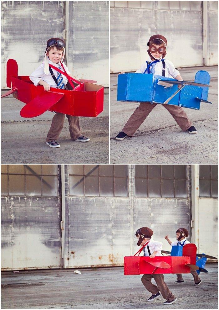 игрушки из больших коробок
