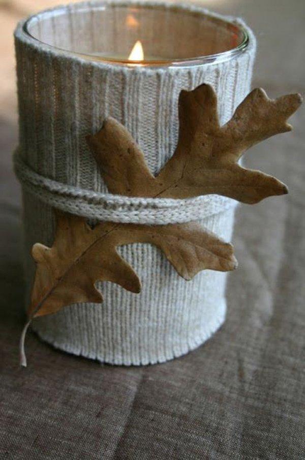 красивые поделки из осенних листьев