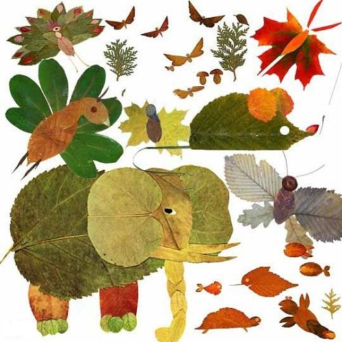 Осенние поделки из овощей и природных материалов