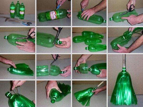 веник из бутылки