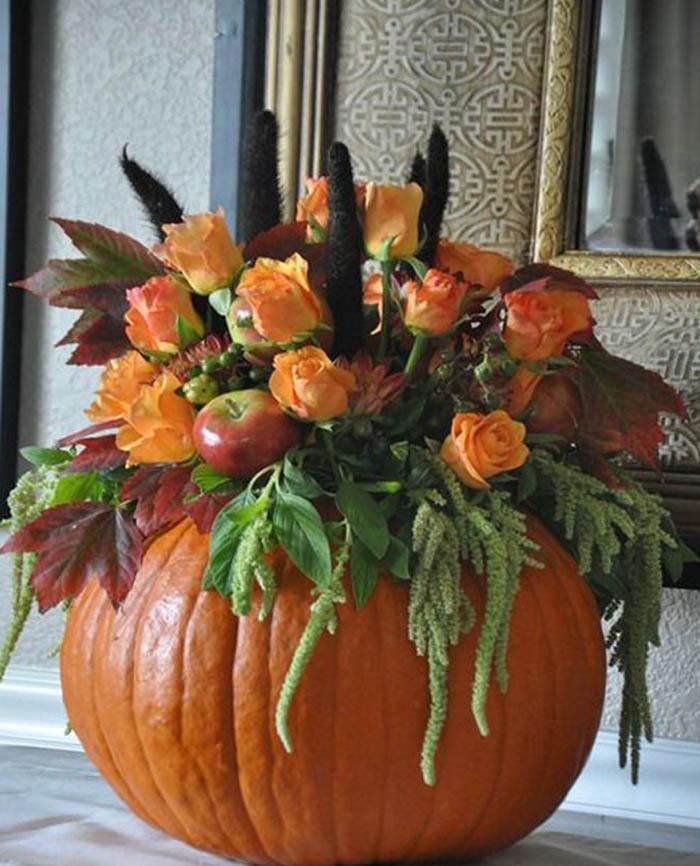 поделки из тыквы на тему осень