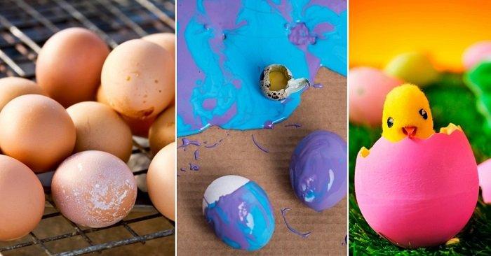 поделки из яичной скорлупы