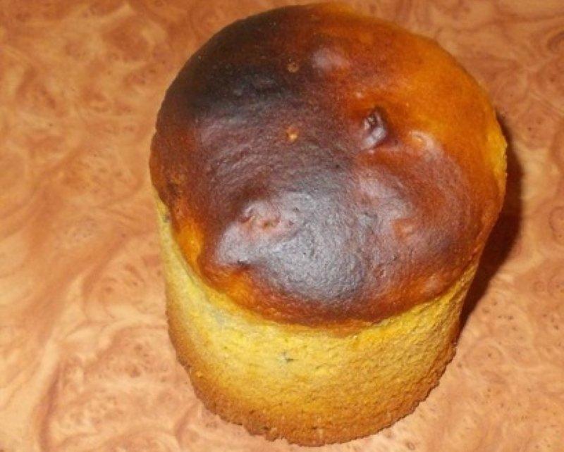 подгорел пирог, что делать