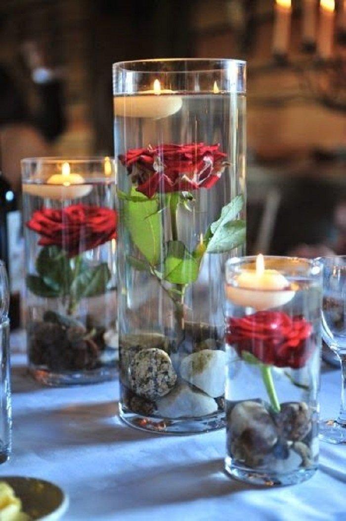 Подсвечники романтические
