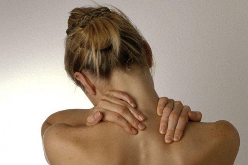 массаж шейных мышц