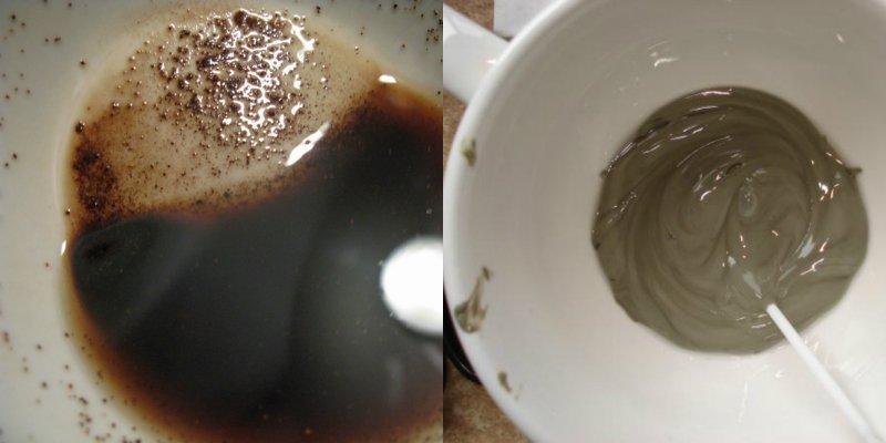 кофе и глина для похудения