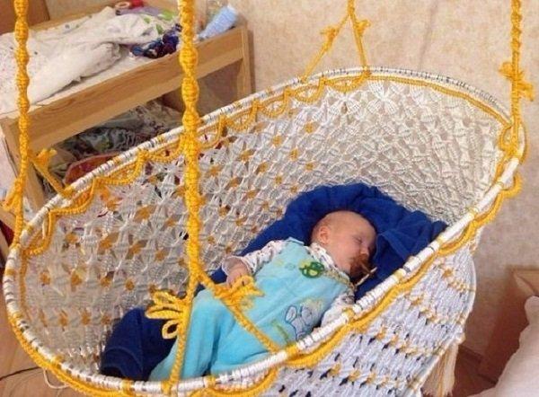 подвесная люлька для новорожденных