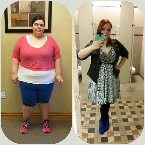 похудевшие девушки фото