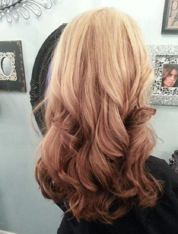 покраска волос омбре и балаяж