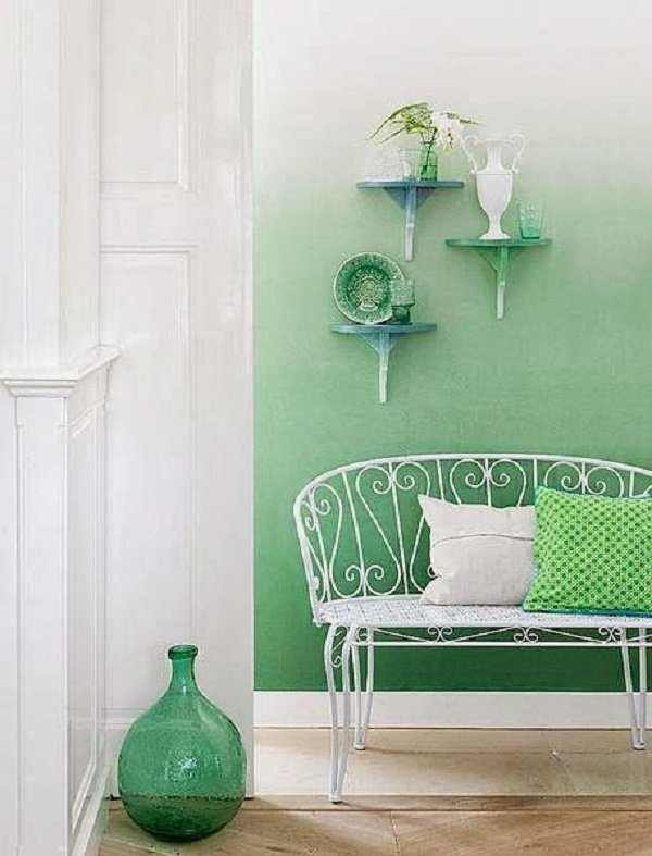 как окрасить стены
