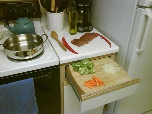Лайфхаки своими руками на кухню