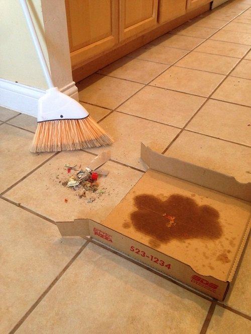 коробка от пиццы