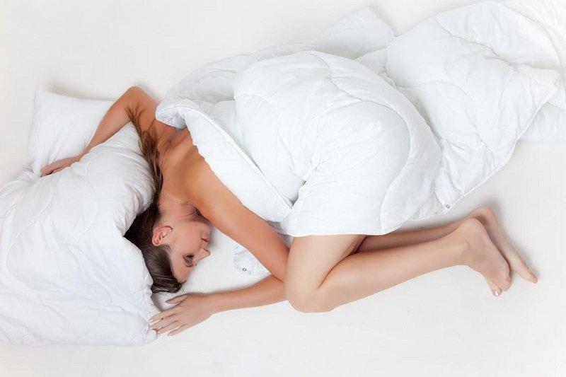 спать без трусов
