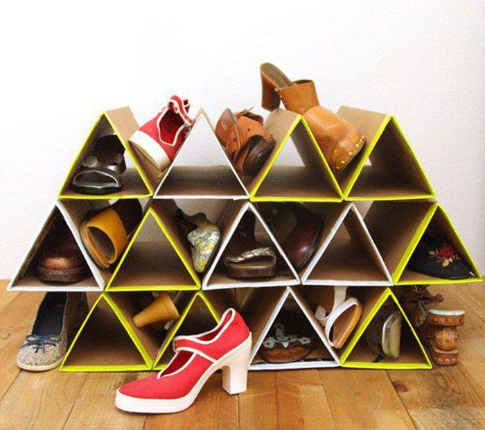 полка для обуви в прихожей