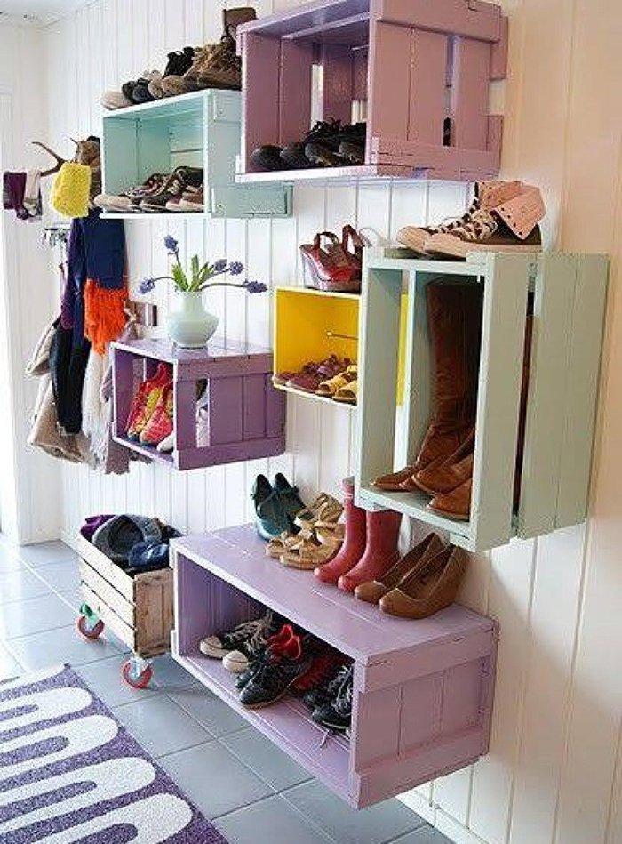 полка для обуви вертикальная