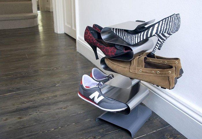 полка для обуви в гардеробную