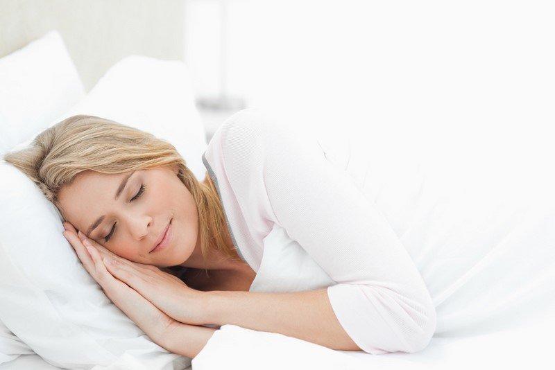 поза для сна при беременности