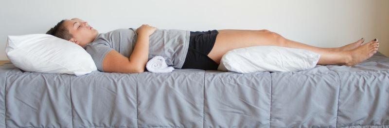 правильное положение головы для сна